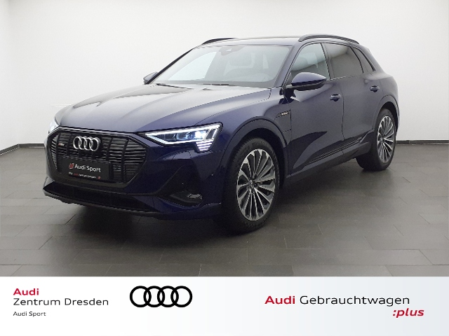Audi e-tron S line 55 quattro 300 kW, Jahr 2021, Elektro