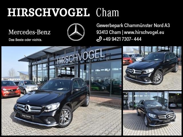 Mercedes-Benz GLC 350 d 4M AMG-Line+AHK+Standheizung+Navi+PDC, Jahr 2017, Diesel
