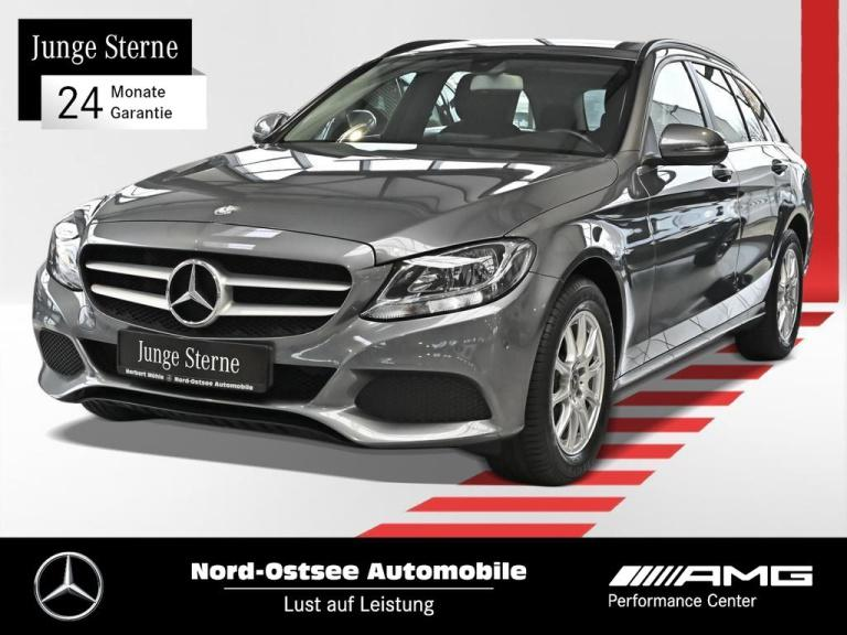 Mercedes-Benz C 180 T Navi Klima Sitzheizung PDC Tempomat, Jahr 2017, Benzin
