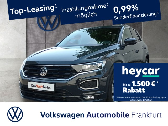 Volkswagen T-ROC 2.0 TDI DSG Sport Einparkhilfe Navi AHK Leichtmetallfelgen T-ROC HLBMT 110TDI D7F, Jahr 2019, Diesel
