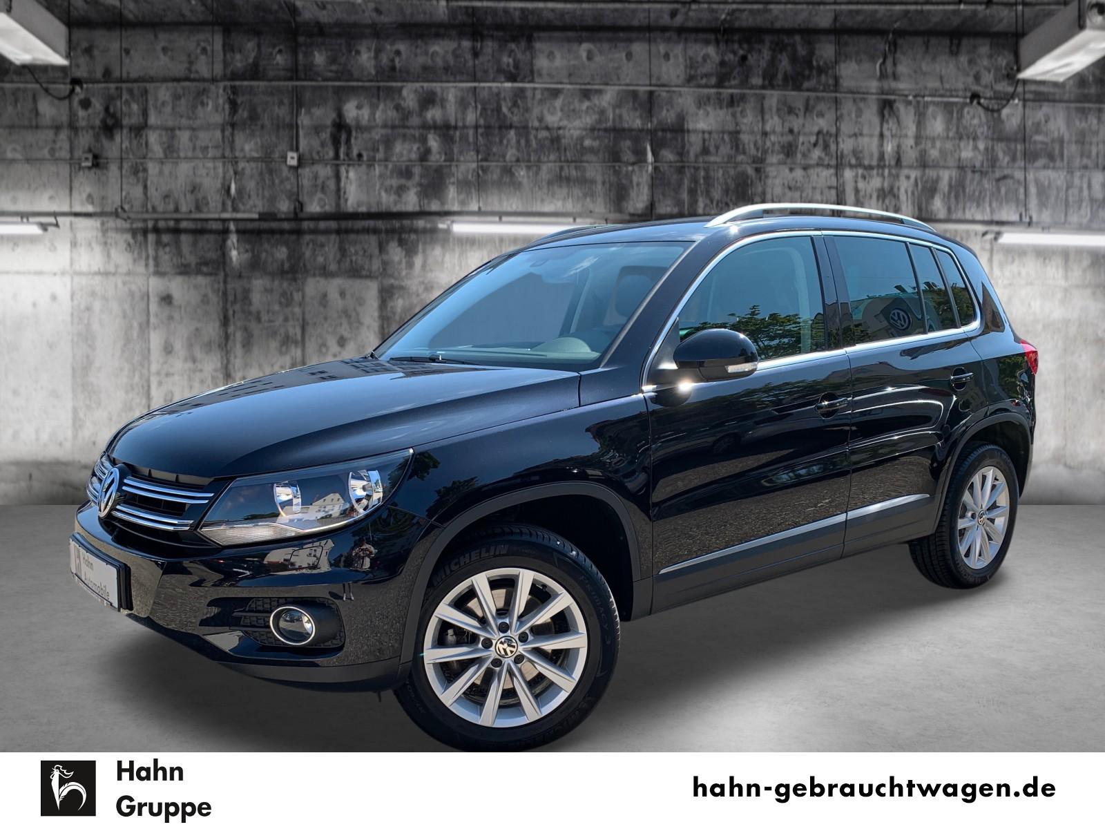 Volkswagen Tiguan Track & Style 1.4TSI 4Mot AHK Sitzh PDC, Jahr 2015, Benzin