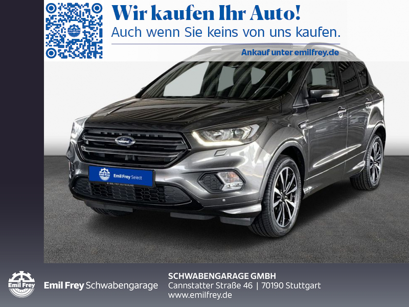 Ford Kuga 1.5 EcoBoost 2x4 ST-Line, Jahr 2017, Benzin