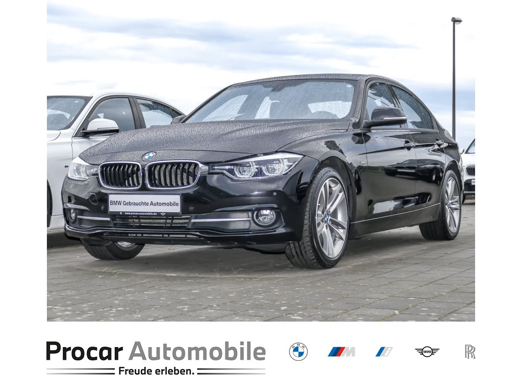 BMW 320d Limousine Sport Line Navi Prof. H/K Glsd., Jahr 2018, Diesel