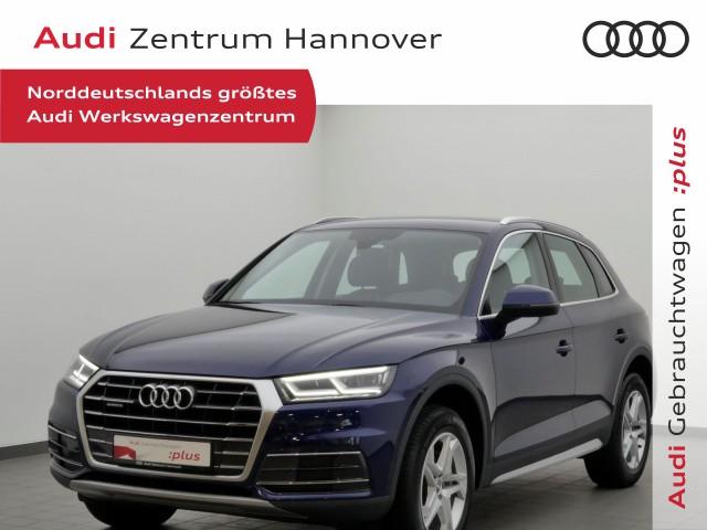 Audi Q5 2.0 TDI design, HuD, Standh., virtual, B&O, LED, AHK, Jahr 2017, Diesel