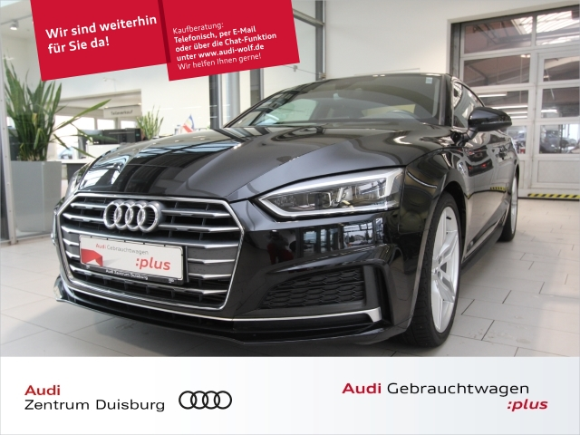 Audi A5 Coupe sport 2.0 TFSI 2xS-line LED Navi B&O, Jahr 2017, Benzin