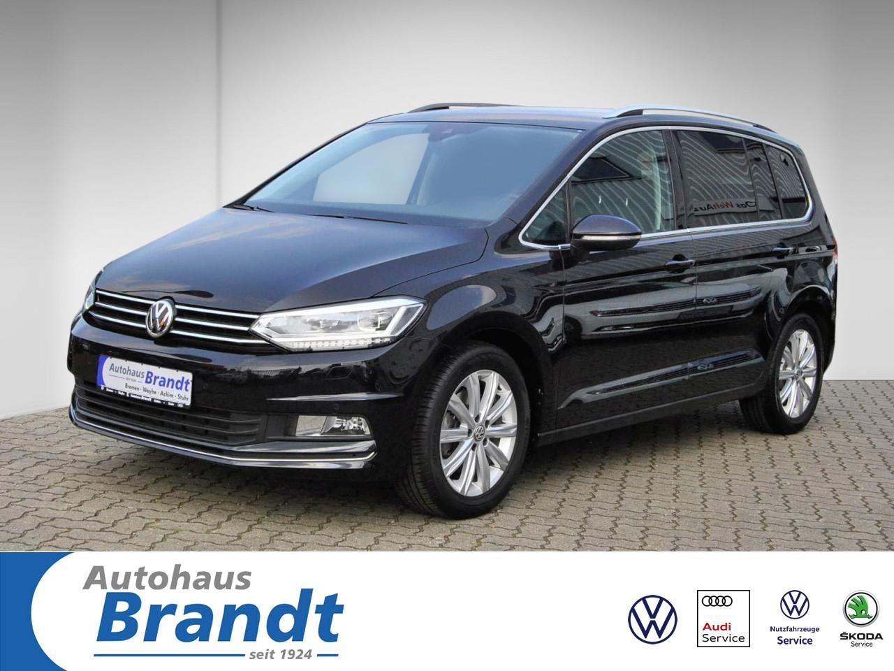 Volkswagen Touran 1.8 TSI Highline DSG NAVI*LED*PDC*SITZH:, Jahr 2017, Benzin