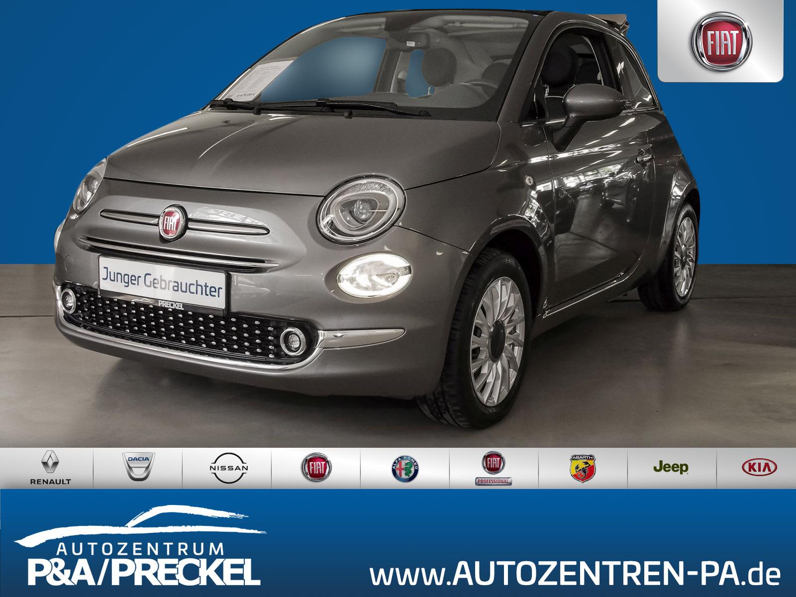 Fiat 500C 1.2 8V Lounge / Klimaautomatik / LM- Felgen / PDC, Jahr 2016, Benzin