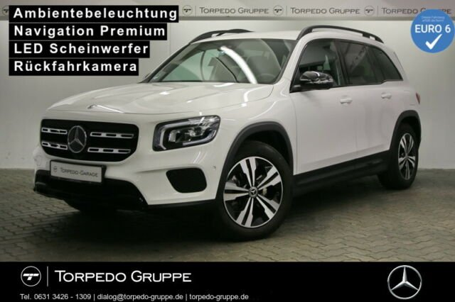 Mercedes-Benz GLB 200 d PROGRESSIVE LED+NIGHT+KAMERA+PTS+SHZ+K, Jahr 2020, Diesel
