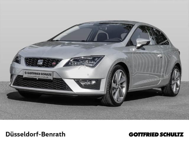 Seat Leon SC FR 1.4 TSI LED Navi Dyn. Kurvenlicht PDCv h LED-hinten LED-Tagfahrlicht Multif.Lenkrad, Jahr 2016, Benzin