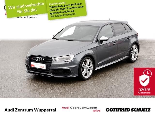 Audi S3 SB 2.0TFSI quat. B O LEDER XEN SHZ GRA FSE MUFU, Jahr 2014, Benzin