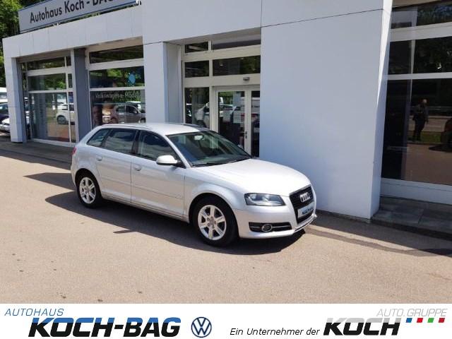"Audi A3 Sportback Attraction Klima GRA MFA SHZ LM 16"" PDC TFL, Jahr 2012, diesel"