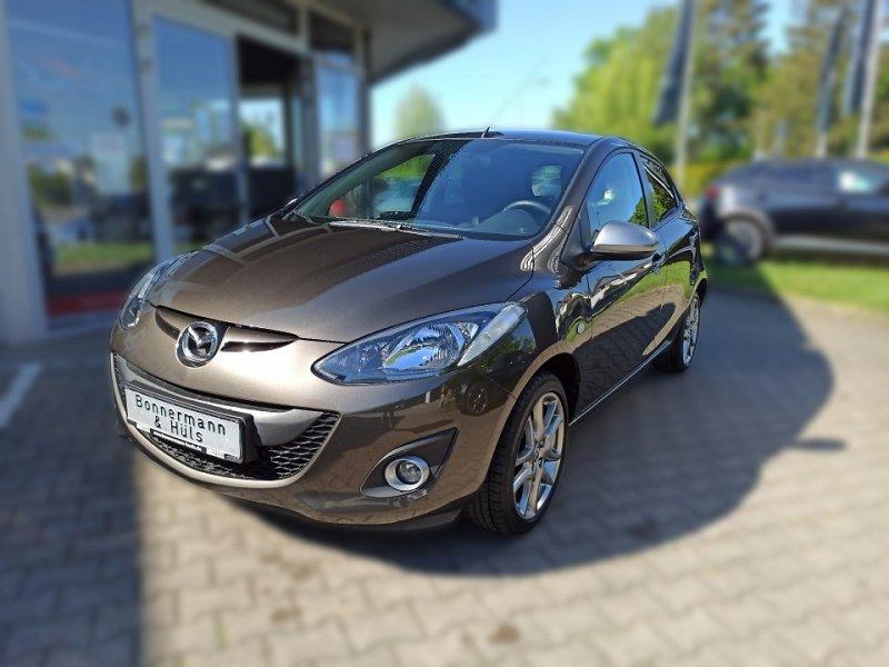 Mazda 2 1.3 MZR Sendo *Klimaa*PDC hi*Sitzheizung*, Jahr 2014, Benzin