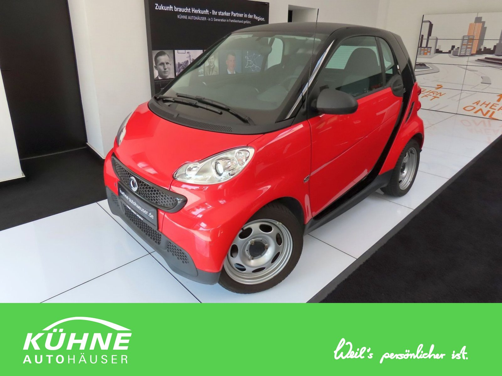smart fortwo coupé mhd 45kw Softouch inkl Garantie, Jahr 2013, Benzin