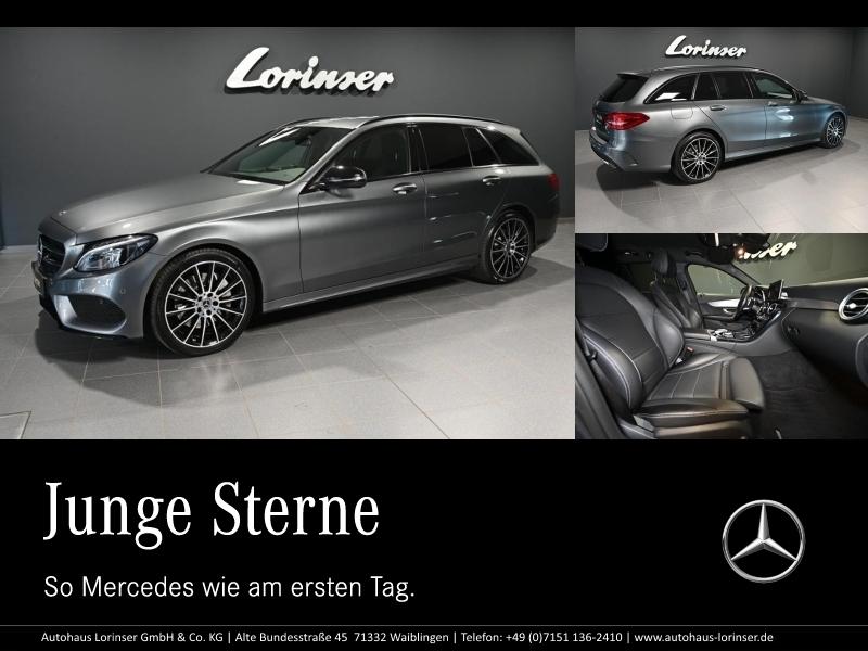 Mercedes-Benz C 400 T 4M AMG/DISTRONIC/NAVIGATION/LED/NIGHT, Jahr 2017, Benzin
