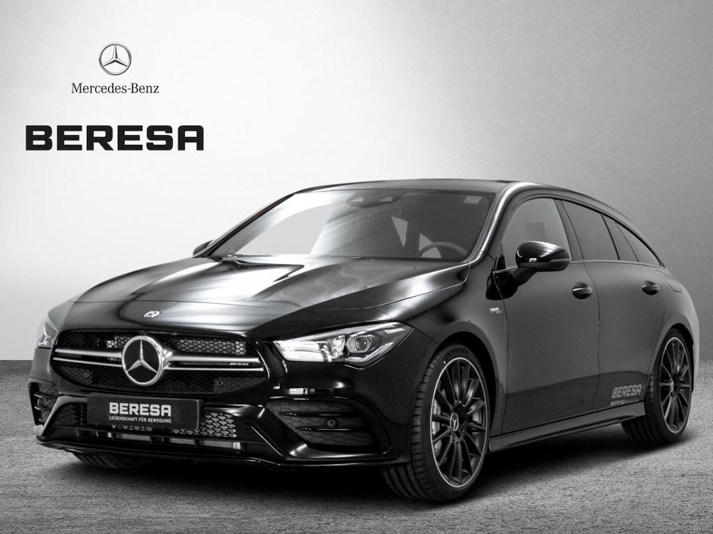 Mercedes-Benz CLA 35 AMG 4M SB Distronic Pano. Burm Kamera LED, Jahr 2019, petrol