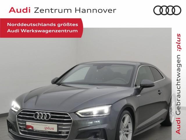 Audi A5 Coupe 2.0 TDI sport, S line, Matrix, virtual, ACC, Keyless, Teilleder, Jahr 2018, Diesel