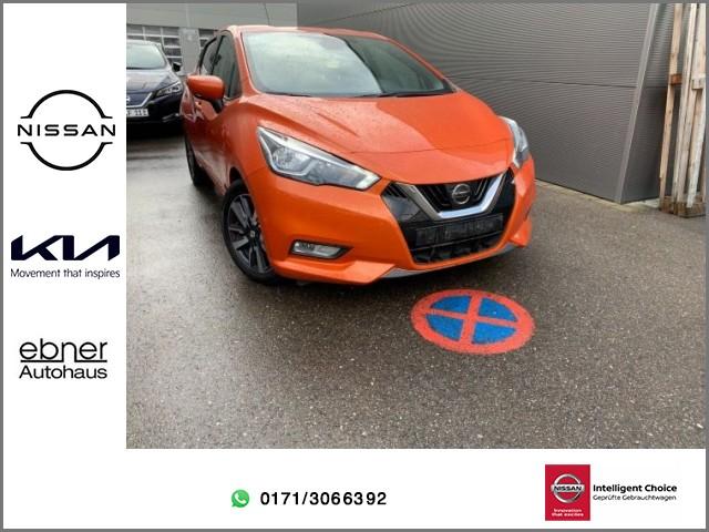 Nissan Micra finanzieren