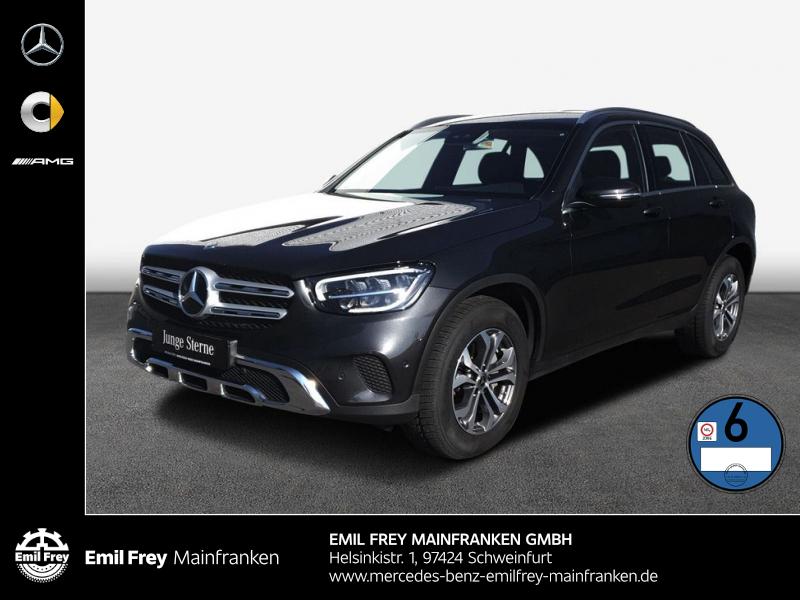 Mercedes-Benz GLC 200 d 4M+NaviMBUX+Facelift+AHK+LED+EasyPack, Jahr 2019, Diesel