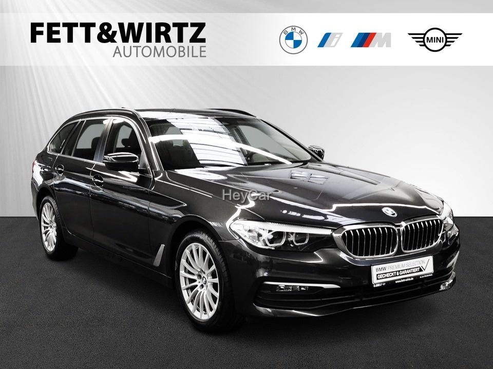 BMW 520d Touring Navi HUD 18'' SHZ LR ab 325,- br.o.A, Jahr 2019, Diesel