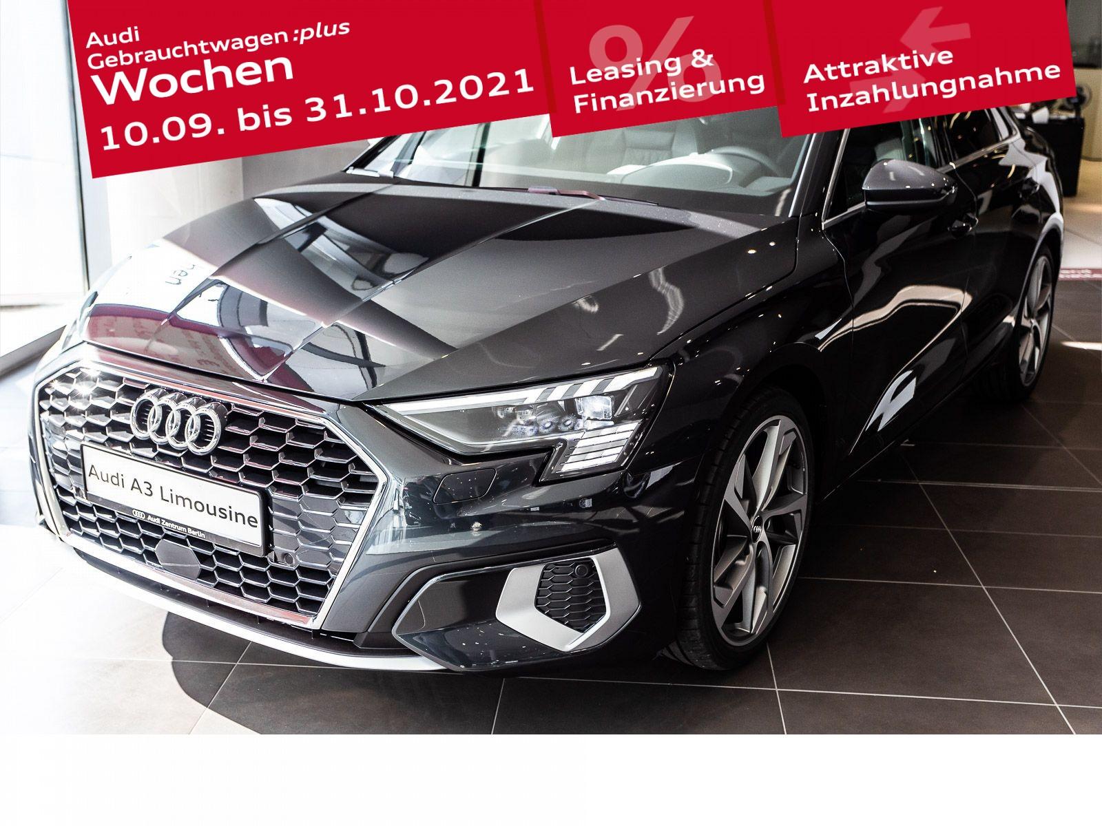 Audi A3 Limousine advanced 35 TFSI S tronic, Jahr 2021, Benzin