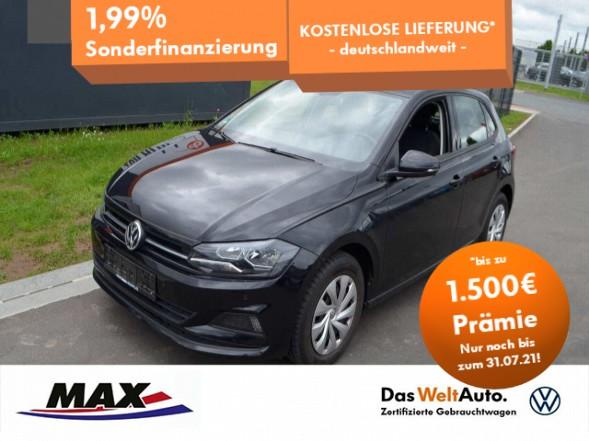 Volkswagen Polo 1.0 TSI COMFORTLINE NAVI+PDC+KLIMA+SITZHZG., Jahr 2018, Benzin