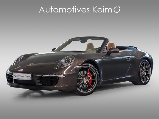 Porsche 991 911 S SPORTABGAS SPORTSITZE LEDER BOSE VOLL, Jahr 2012, petrol