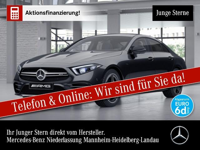 Mercedes-Benz CLS 53 AMG Cp. 4M Fahrass WideScreen 360° Distr., Jahr 2019, Benzin