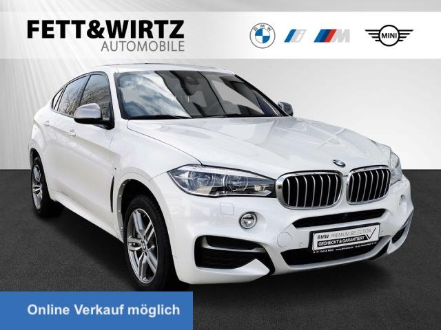 BMW X6 M50d M Sport 20'' LED HUD H&K Surround View, Jahr 2018, Diesel