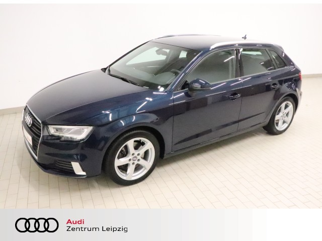 Audi A3 Sportback 2.0 TDI quattro sport *LED*Navi*AHK*, Jahr 2017, Diesel