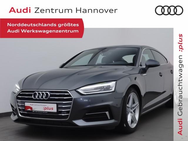 Audi A5 Sportback 35 TFSI S-line, Teilleder, Navi, Xenon, PhoneBox, Jahr 2019, Benzin