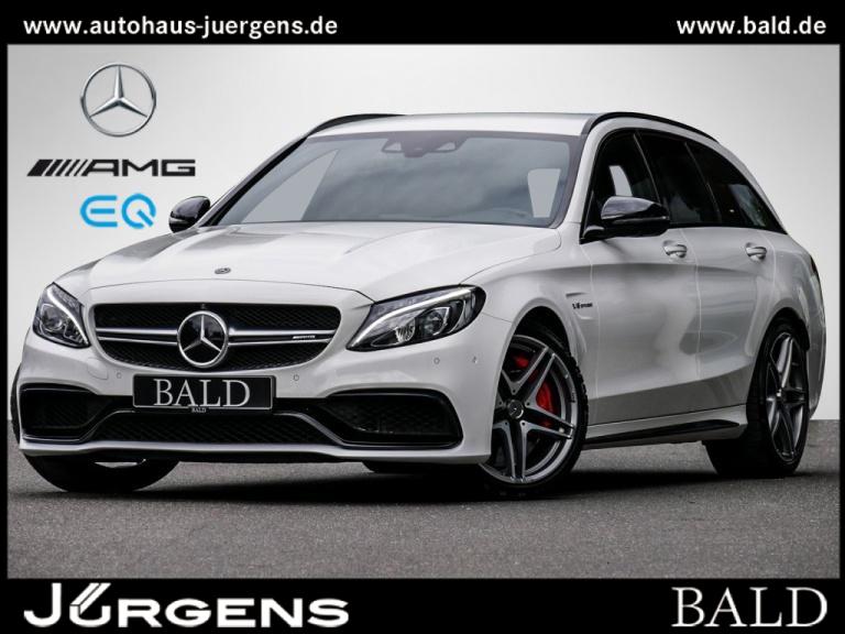 Mercedes-Benz C 63 AMG S T Comand/360/Burm/Totw/Spur/DAB/19', Jahr 2017, Benzin