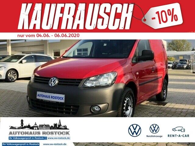 Volkswagen Caddy Kasten 2.0 EcoFuel MP3 ZV SERVO, Jahr 2014, Gas