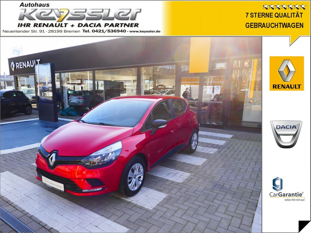 Renault Clio 1.2 16V 75 LIFE, Jahr 2016, Benzin