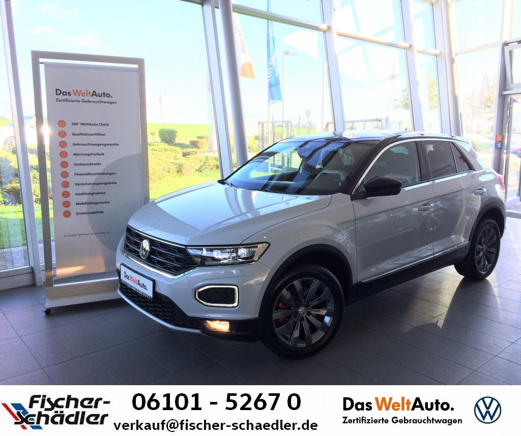 Volkswagen T-ROC Sport 1.5TSI*Sport*Navi*ActiveInfo*LED*Ass, Jahr 2018, Benzin