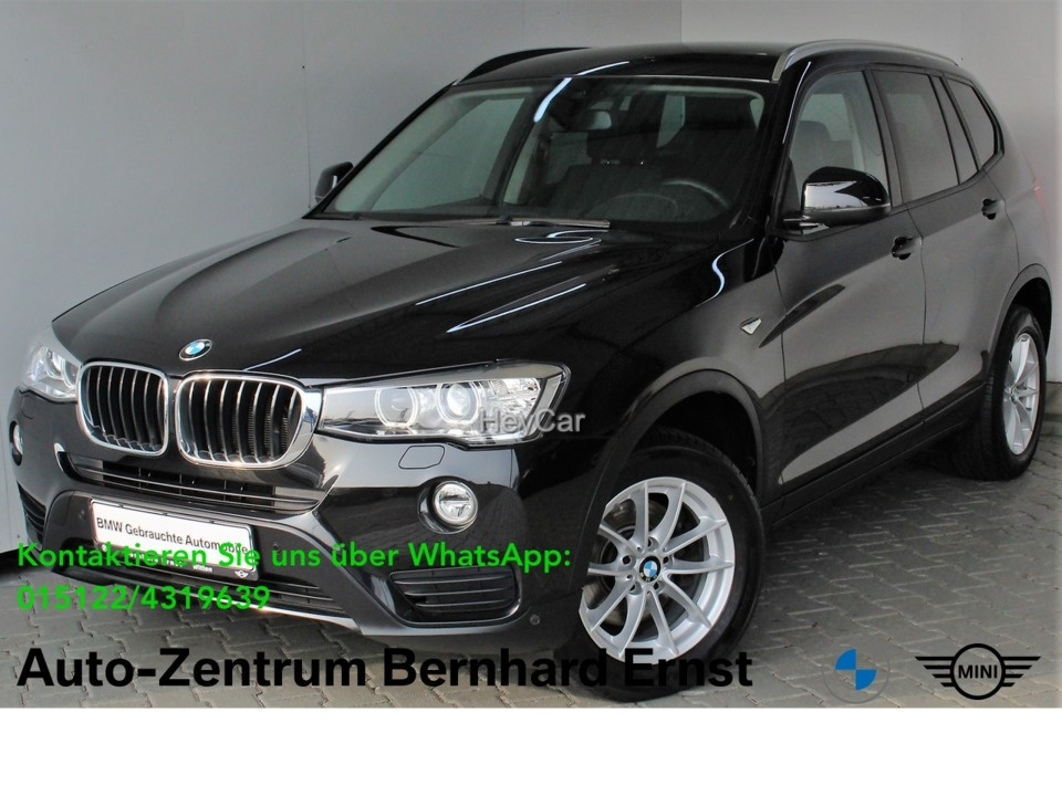 BMW X3 xDrive20d ADVANTAGE Aut. Navi Business Xenon, Jahr 2017, Diesel