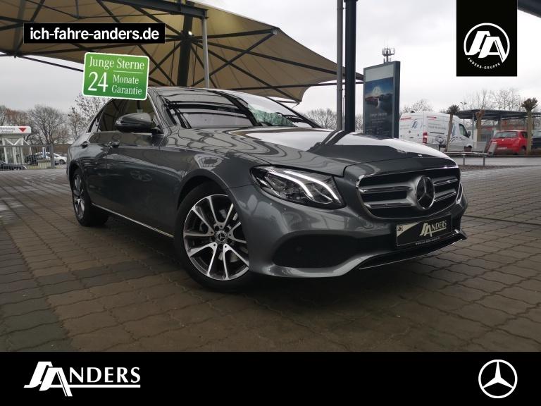 Mercedes-Benz E 300 d Avantgarde+Burm+Comand+Distr+LED+Kam+SHZ, Jahr 2018, Diesel