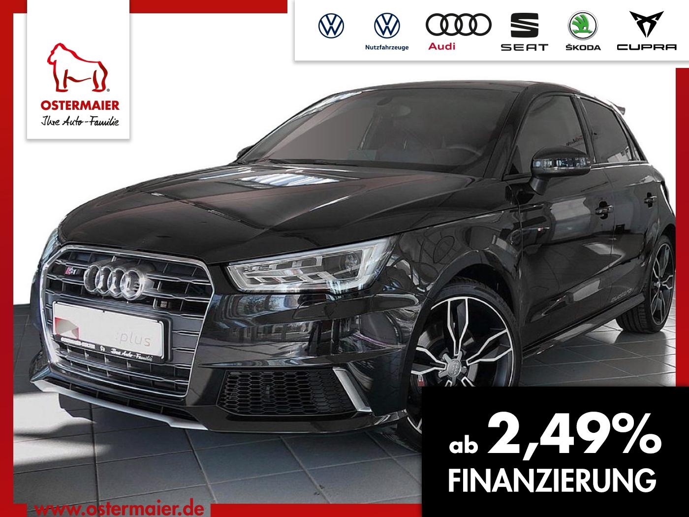Audi S1 Sportback 2.0TFSI QUATTRO XENON.18ALU.SPORTSI, Jahr 2017, Benzin