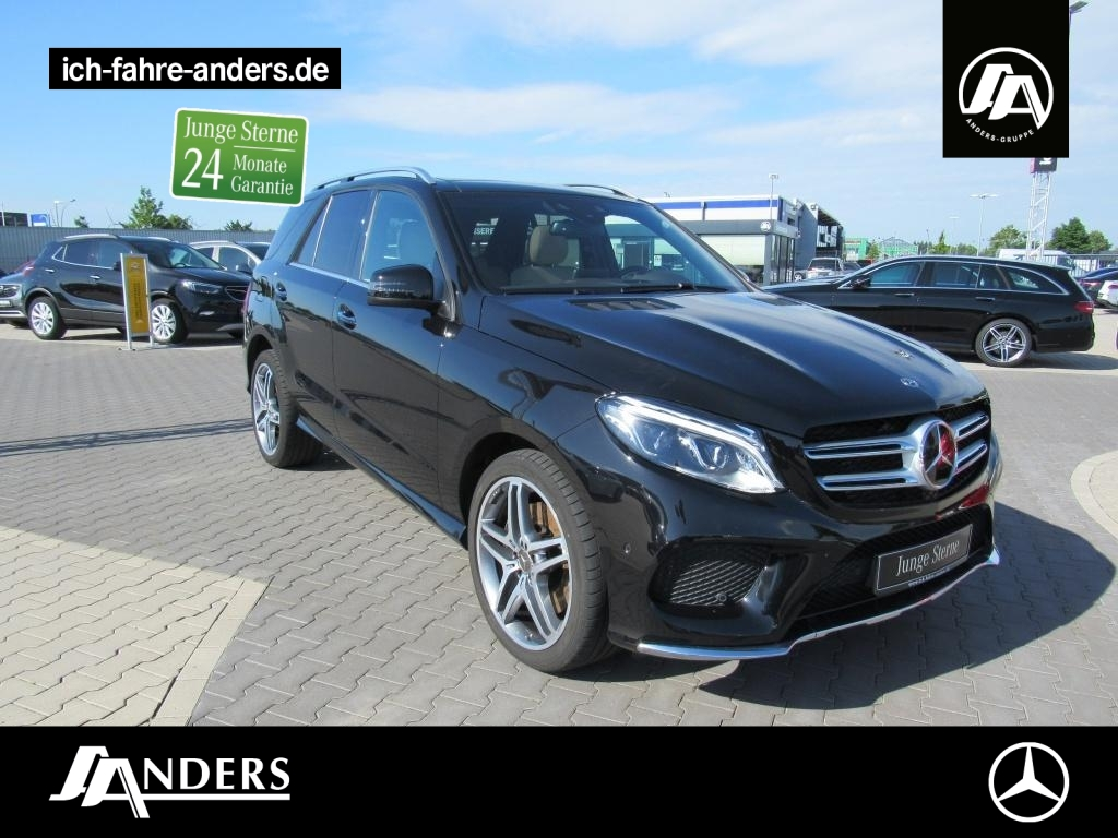 Mercedes-Benz GLE 350 d 4M AMG+Comand+LED+Pano+Distr+Kam+Keyl., Jahr 2018, Diesel