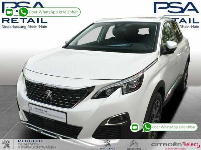 Peugeot 3008 BlueHDi 130 EAT8 Allure *FULL-LED*NAVI*ACC*KAMERA*, Jahr 2019, Diesel