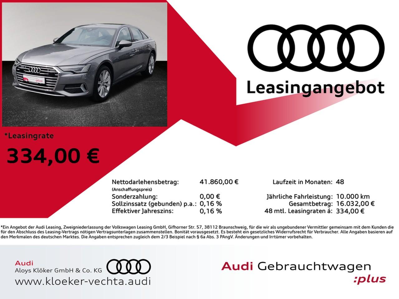 Audi A6 finanzieren