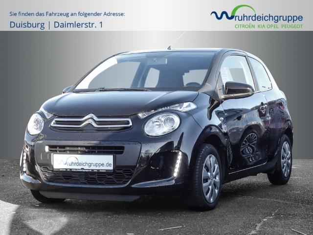 Citroën C1 Feel 1.0 VTi Klima+Allwetter+LED-Tagfahrlicht, Jahr 2016, Benzin