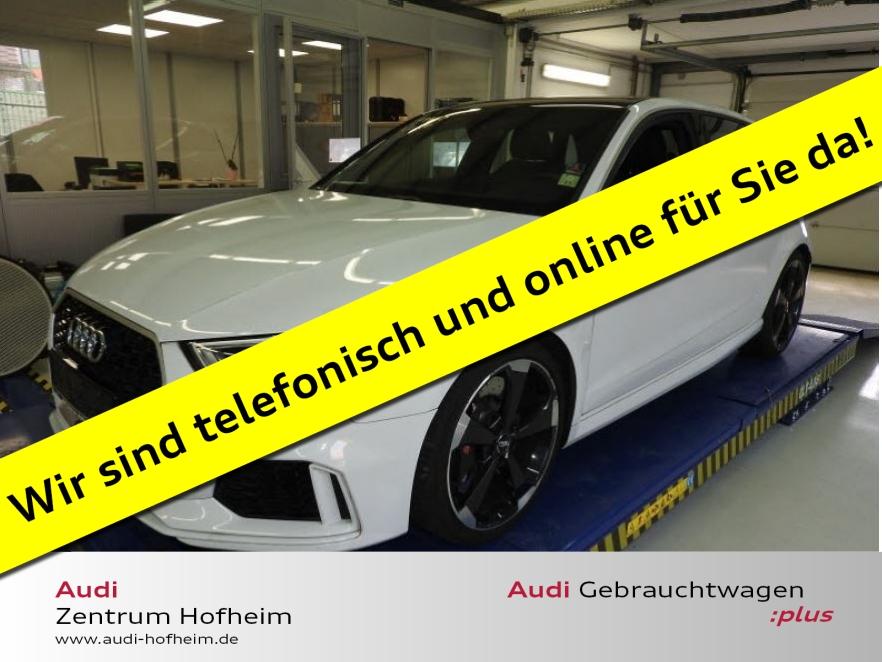 Audi RS 3 Sportback 2.5 TFSI qu. S tro. 294 kW*Leder*, Jahr 2018, Benzin