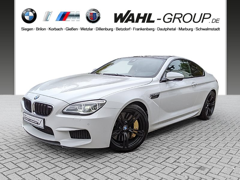 BMW M6 Coupé M Drivers P. Head-Up HK HiFi LED WLAN, Jahr 2016, petrol