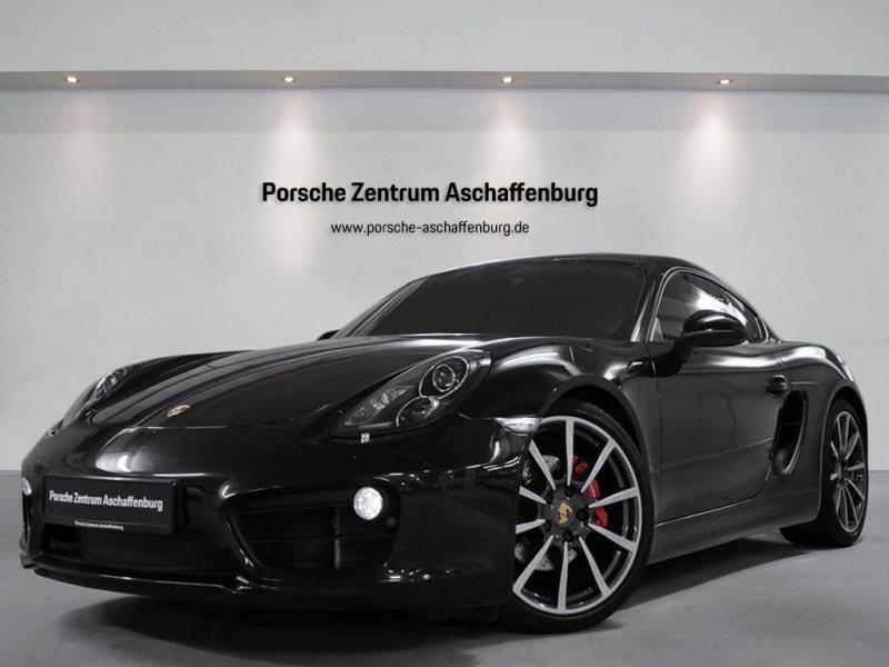 Porsche Cayman S SportabGas Sportsitz Bose Classic PASM, Jahr 2013, Benzin