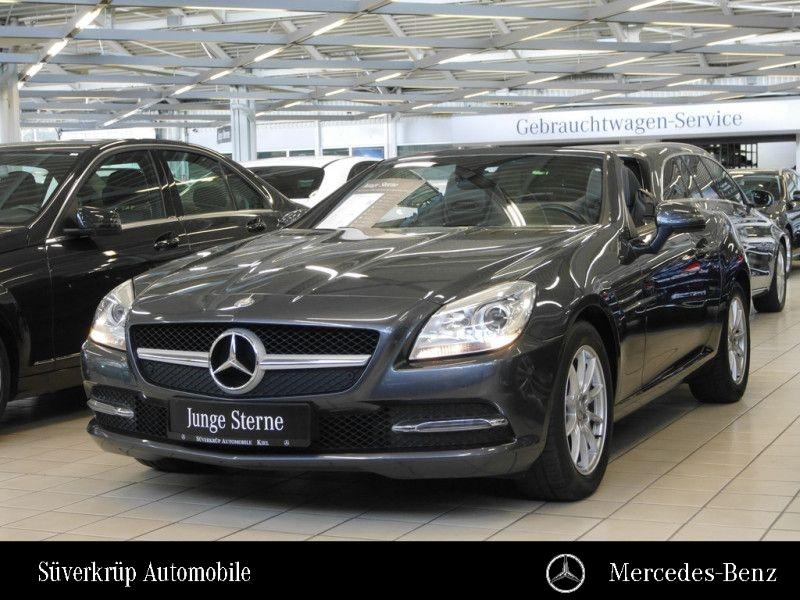 Mercedes-Benz SLK 200 Pano+Parkassistent+Airscarf+Nappaleder, Jahr 2013, petrol