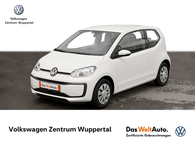 Volkswagen up! 1 0 move KLIMA ZV E-FENSTER, Jahr 2019, Benzin