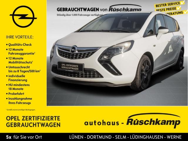 Opel Zafira Tourer C 1.4 Turbo Klima Alu Allwetter, Jahr 2014, Benzin