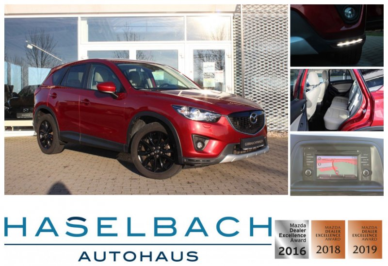 Mazda CX-5 SPORTS AHK*AWD*Bose*Bi-Xenon*LogIn*Sitzheizg Sports-Line AWD, Jahr 2013, Diesel