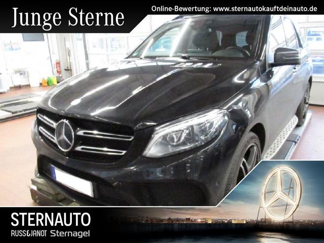 Mercedes-Benz GLE 500 4M AMG Line Night Pano LED Distr DAB Stand, Jahr 2016, petrol