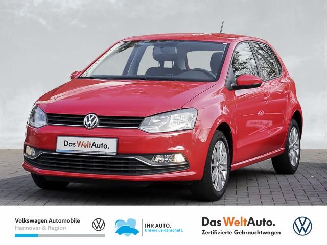 Volkswagen Polo 1.0 Comfortline PDC SHZ Blutooth KLIMA, Jahr 2017, Benzin